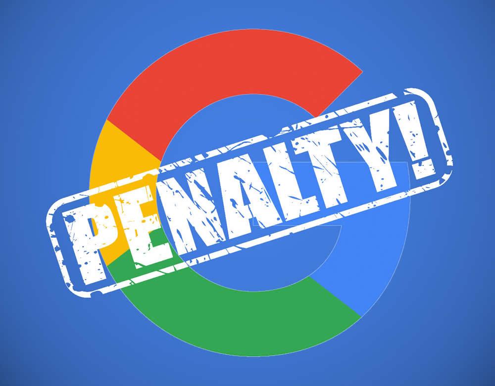 penalizari google