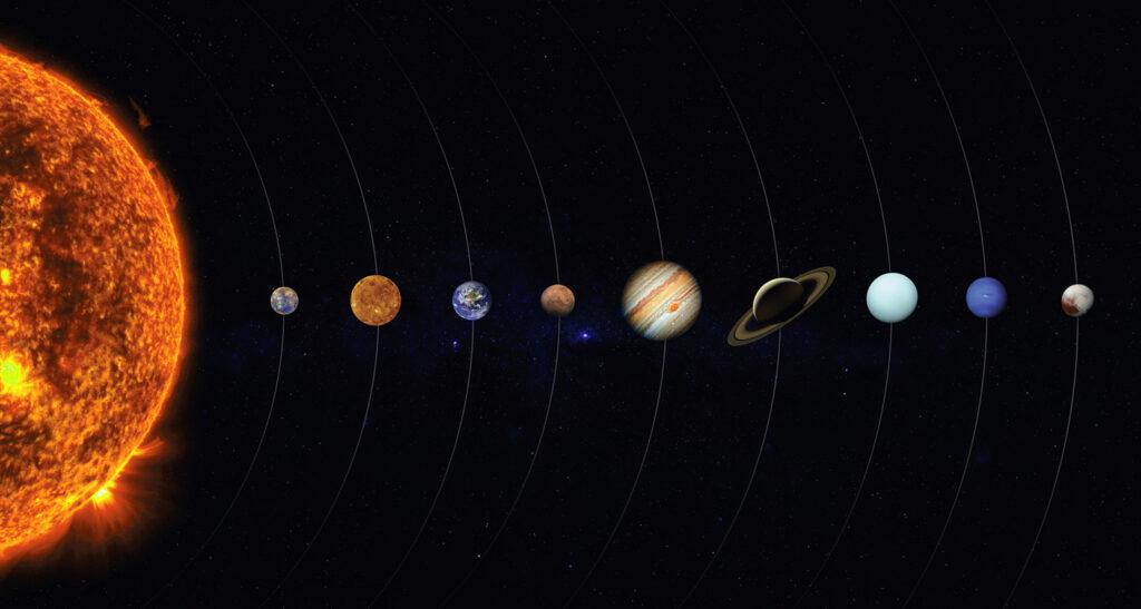 cronologie sistem solar